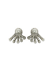 Mini Crystal Spray Earring