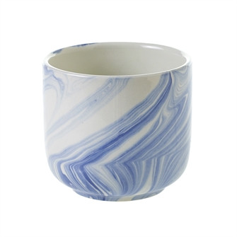 Blue and White Stoneware