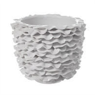 White Glazed Ceramic