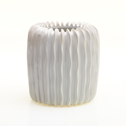 White Glazed Ceramic