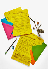 Camp Letter Kit