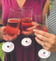 Letterpress Wine Bracelets
