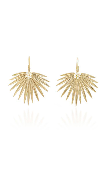 Palm Fan Earrings