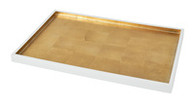 Gold Leaf Lacquer Tray