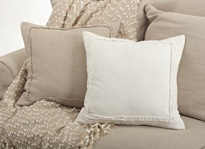 Ruffled Design Pillow