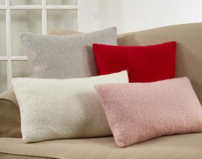 Faux Mohair Pillow