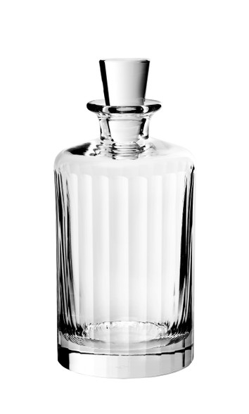 Fluted Large Decanter