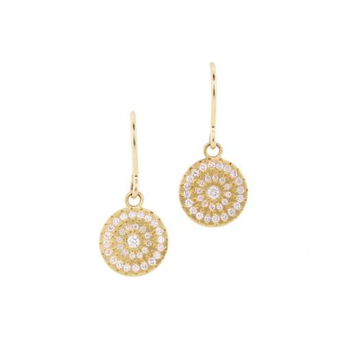 Star Diamond Earrings
