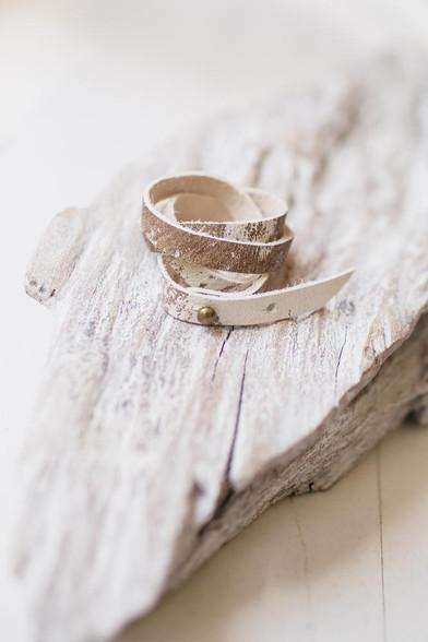 hide wrap bracelet