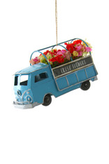Flower Truck Ornament