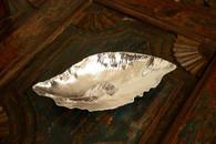 Silver Magnolia Leaf Bowl
