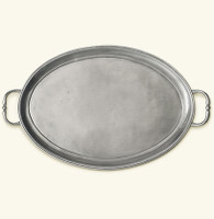 Oval Tray with Handles 16 x 11.5