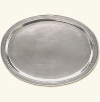 Oval Incised Tray- Large