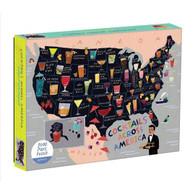 Cocktails Across America 1,000 Piece Puzzle