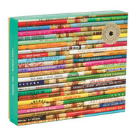 Vintage Pencils 1000 Piece Puzzle from Galison features a vibrant photo of pencils that Phat Dog Vintage has collected from their travels. This unique puzzle dazzles with pieces that are stamped with shimmering gold foil accents. This puzzle is packaged in a stylish matte-finish sturdy box, also with gold foil accents, perfect for gifting, reuse, and storage.