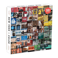 New York in Color 500 piece Puzzle