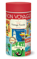 Bon Voyage Travel Vintage 1,000 Piece Puzzle