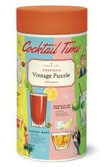 Cocktail Time Vintage Puzzle 1,000 Pieces