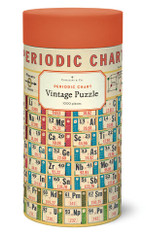 Periodic Chart Vintage 1,000 Piece Puzzle
