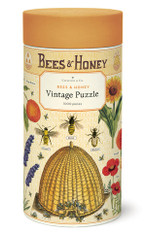 Bees and Honey 1,000 Piece Vintage Puzzle