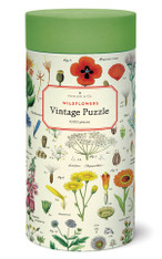 Wildflowers 1,000 Piece Vintage Puzzle