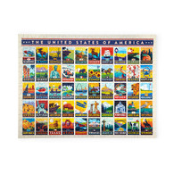 True South The United States Of America 500 Piece Puzzle