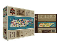 True South The Discover The States Tennessee 750 Piece Puzzle