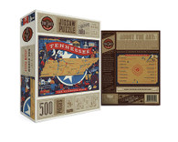 True South Tennessee The Volunteer State  500 Piece Puzzle