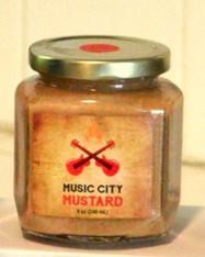 Music City Mustard Drunken Sweet Heat 3.75 oz