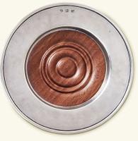 Convivo Wine Coaster with Wood Insert