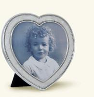 Pewter Heart Frame