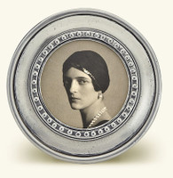Pewter Veneto Picture Frame Small Circle