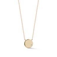 Lulu Jack Gold Disc 14kg Necklace