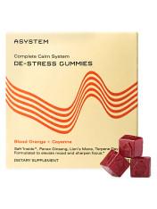 Asystem Complete Calm System De-Stress Gummies Blood Orange + Cayenne