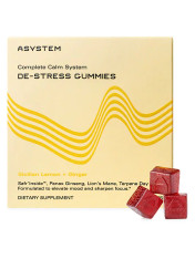 Asystem Complete Calm System De-Stress Gummies Sicilian Lemon + Ginger