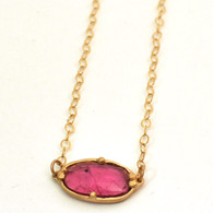 Rubellite Necklace