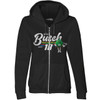LADIES 1-SPOT FULL ZIP HOODIE  [Item:SE9818]