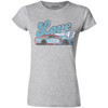 LADIES 1-SPOT LOVE CAR TEE  [Item:SG4343]