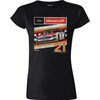 LADIES 1-SPOT RETRO CAR TEE [Item:SH8321]