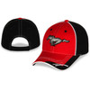 MUSTANG HAT RED/BLACK  [Item:EG1891]
