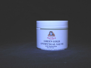 GREEN GOLD HEALING SALVE (Formerly ANTI FUNGAL SALVE) 2 oz.