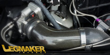 LegMaker Carbon Fiber True Cold Air Intake 5.7 6.1 With Eldebrock Supercharger