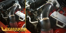 LegMaker Carbon Fiber Short Ram Intake 5.7 6.1 With Whipple Supercharger - Rear Inlet