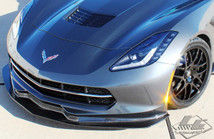 LG Motorsports C7 Stingray G7 Carbon Front Splitter
