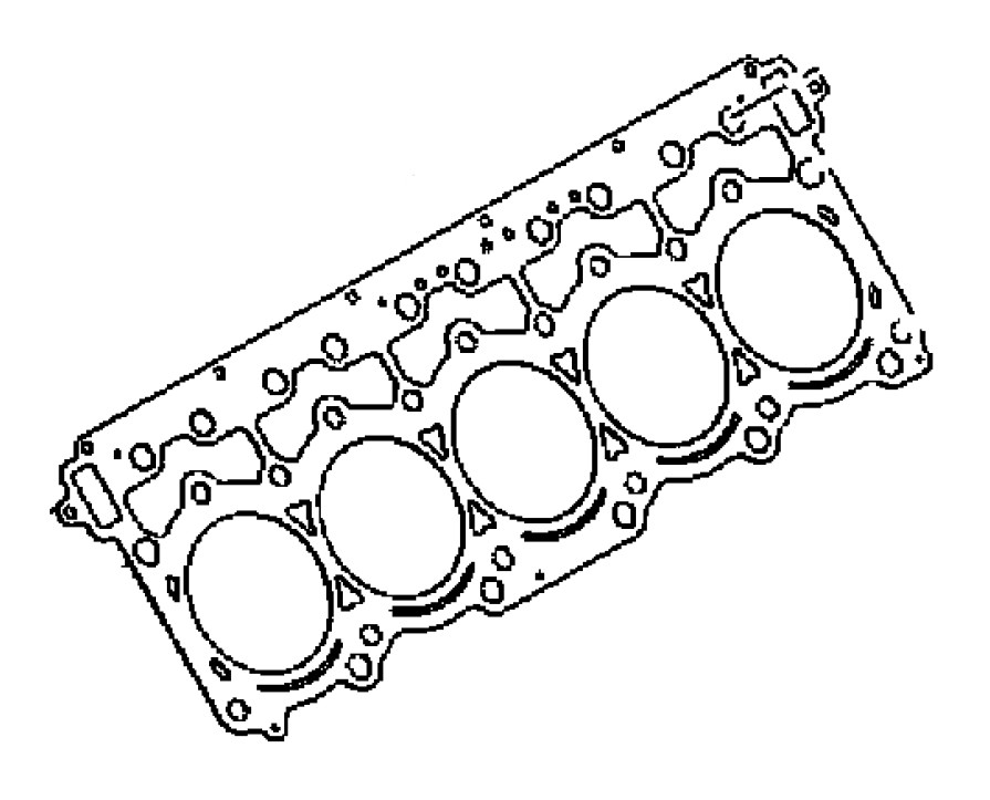 Mopar Oem Head Gasket Set For Dodge Viper Gen 2 3 1996 2006