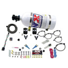 Nitrous Express EFI DUAL NOZZLE (100-300HP) WITH 10LB BOTTLE