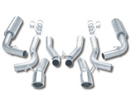 Borla Stainless Steel Catback Exhaust System - GTS/ R/T-10 - Gen 2 Viper