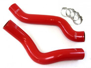 HPS Reinforced Silicone Radiator Coolant Hose Kit - Red - Dodge Viper - Generation 4