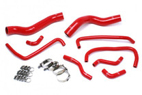 HPS Reinforced Silicone Radiator Coolant & Heater Hose Kit For Dodge Viper - Red - Generation 5