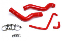 HPS Reinforced Silicone Radiator Coolant Hose Kit for Dodge Viper - Red - Generation 5